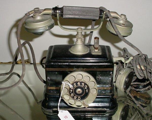 16: Antique Ericsson European Mother in Law Telephone
