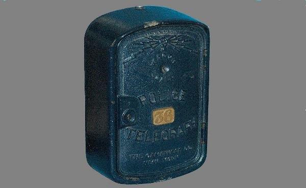22: Antique Police Telegraph Box
