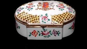 199 French Samson Porcelain Box