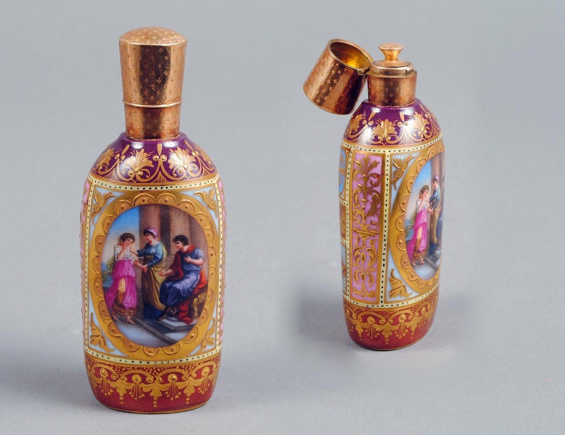 3: VIENNA PORCELAIN SCENT BOTTLE