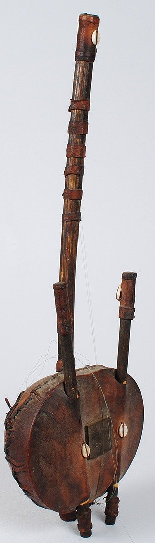 280: TWO AFRICAN TRIBAL INSTRUMENTS - 3