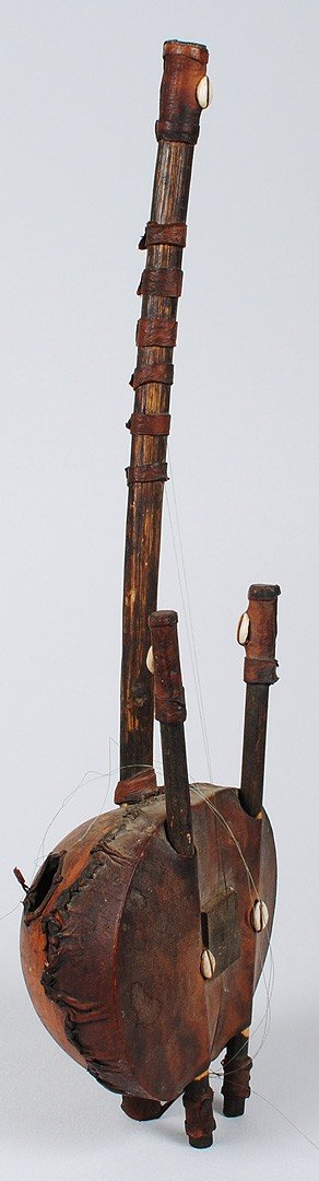 280: TWO AFRICAN TRIBAL INSTRUMENTS - 4