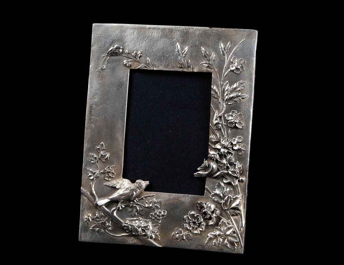 6: STERLING SILVER PHOTOGRAPH FRAME