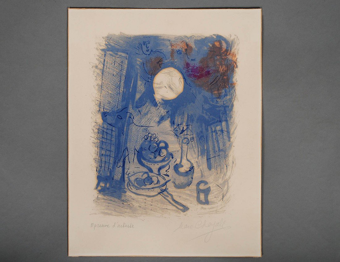 158: MARC CHAGALL (Russian/French. 1887-1985)
