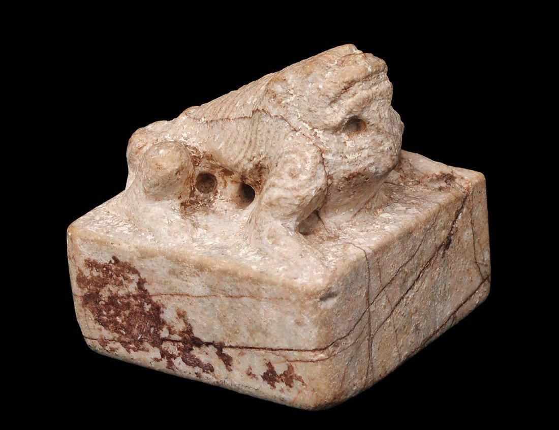 34: MING CARVED STONE SEAL