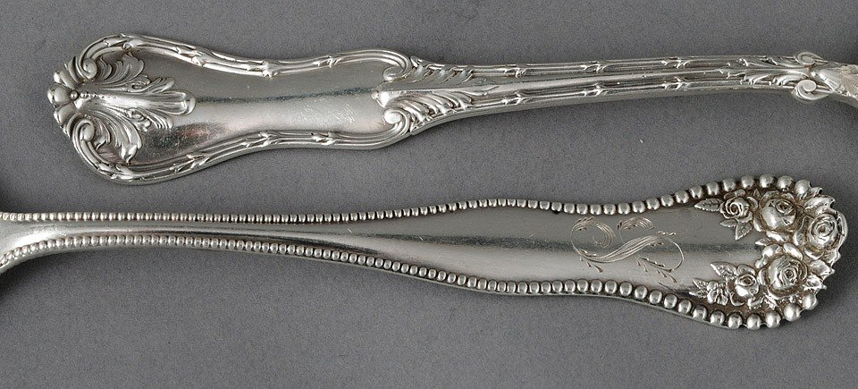105: SIXTEEN STERLING SILVER SPOONS - 2