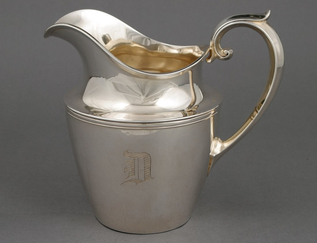 328: STERLING SILVER PITCHER
