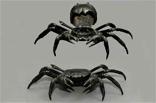 Bronze Crab in Inkwell