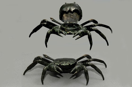 6: Bronze Crab in Inkwell