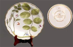 Royal Worcester Porcelain Shallow Bowl