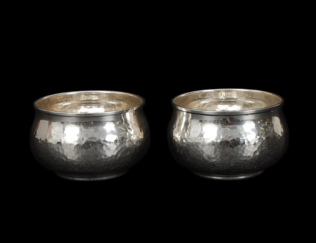 3: PAIR OF CONTINENTAL SILVER BOWLS