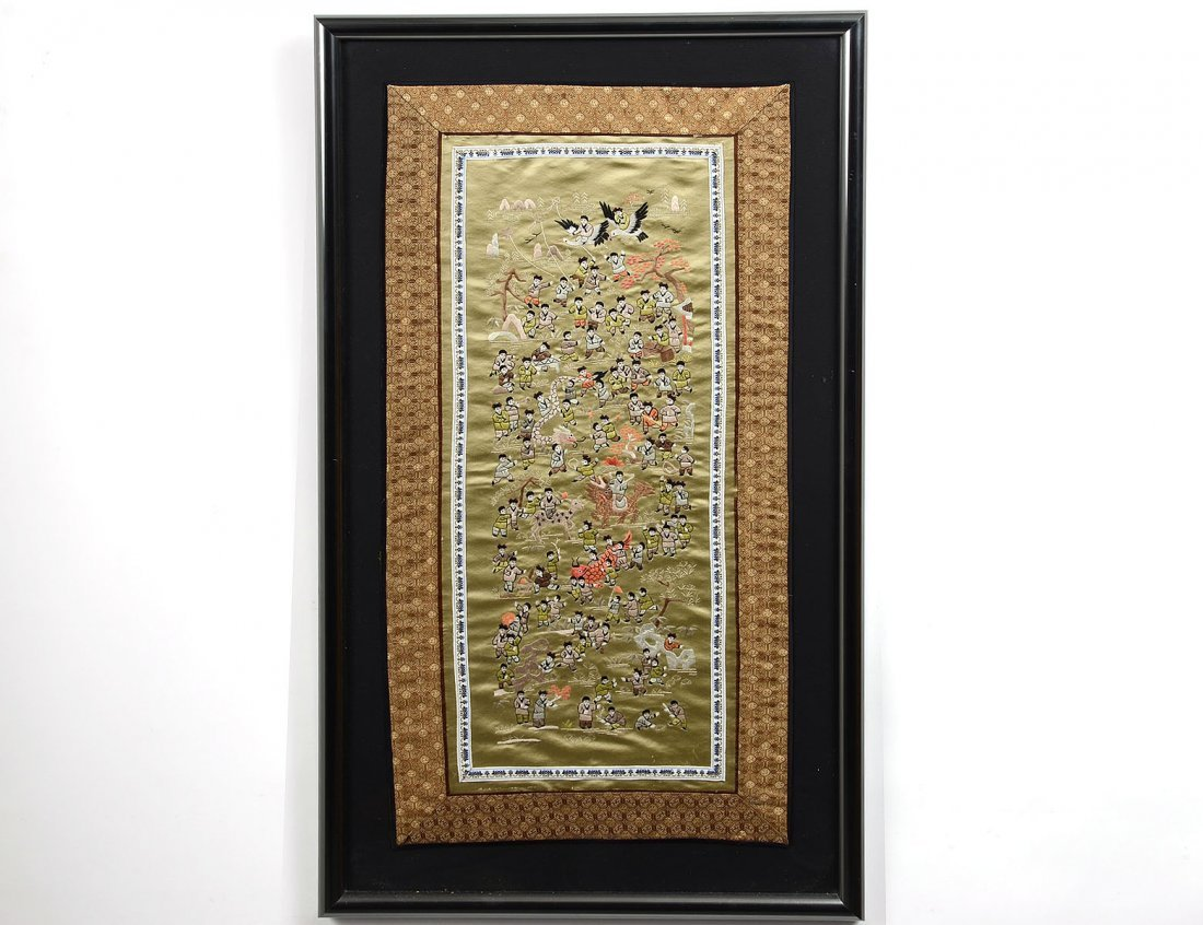 20: FRAMED EMBROIDERY