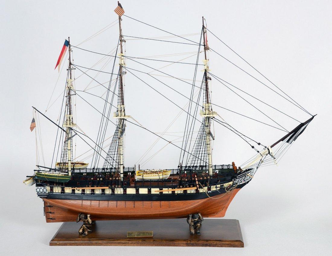 "21: SHIP'S MODEL ""USS CONSTITUTION"""