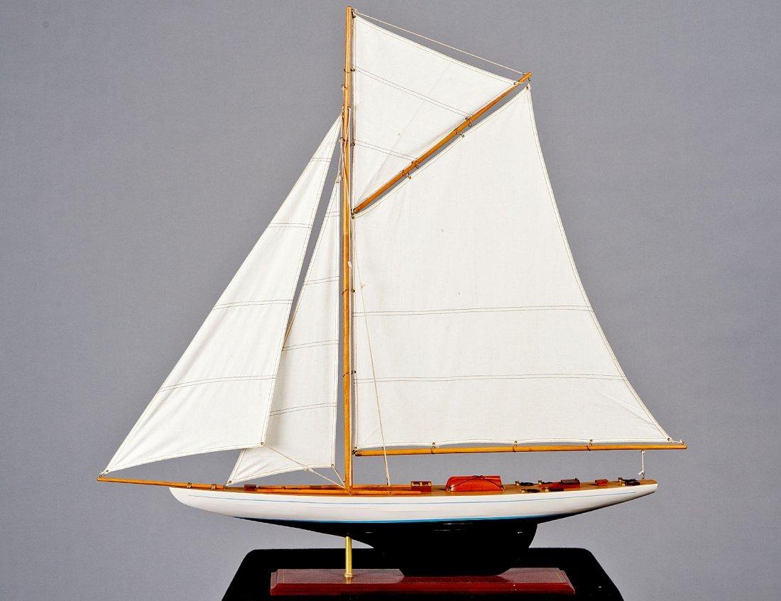 22: SHIP MODEL OF A SLOOP