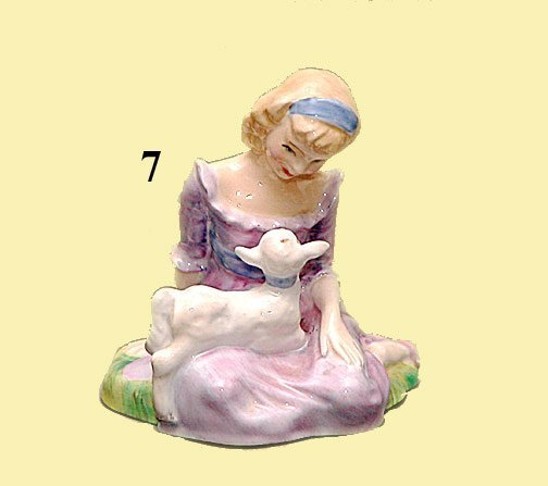 "7: ROYAL DOULTON ""MARY HAD  LITTLE LAMB"