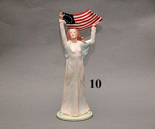 "10: LASZLO ISPANKY ""MISS AMERICA"" FIGURE"