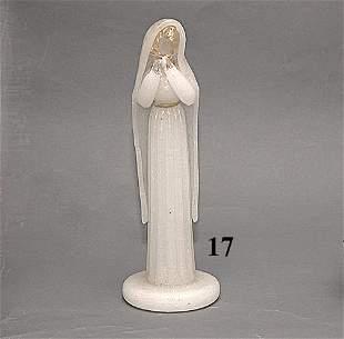 MURANO FIGURE OF VIRGIN MARY