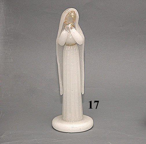 17: MURANO FIGURE OF VIRGIN MARY
