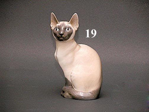 "19: ROYAL COPENHAGEN ""SIAMESE CAT"