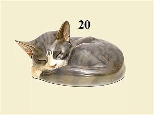 "ROYAL COPENHAGEN ""SLEEPING CAT"
