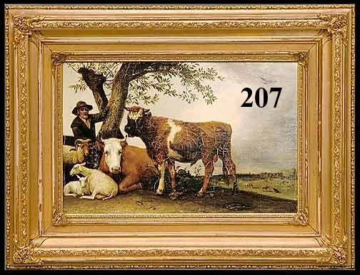 207: JACOB MARIS, DUTCH, 19THC PASTURE SCENE