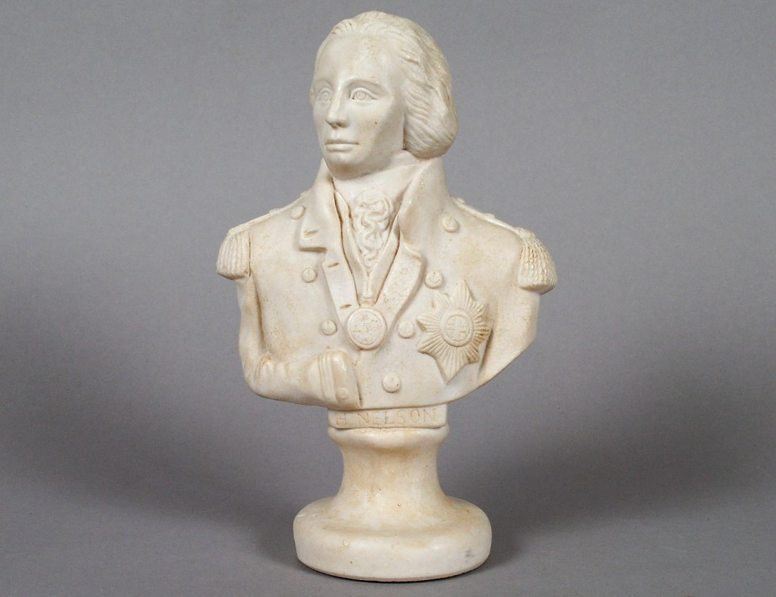12: ALABASTER BUST OF NELSON