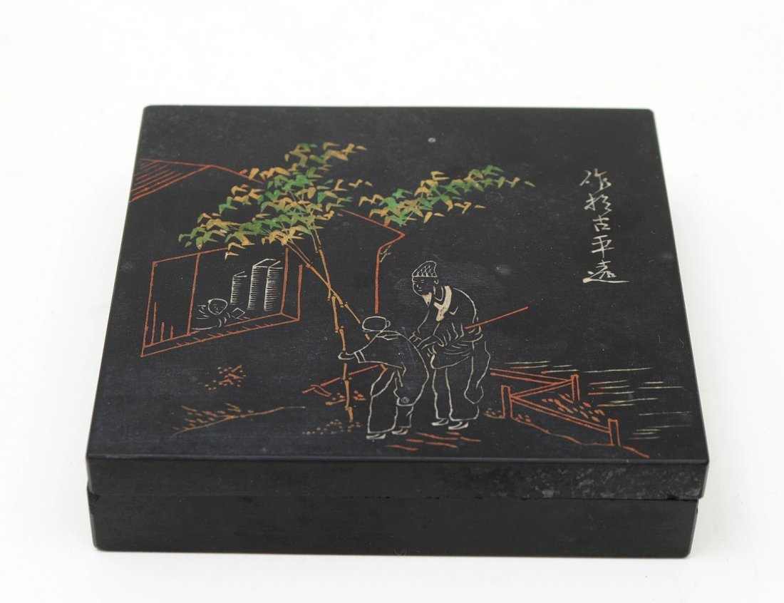 INKSTONE BOX AND COVER