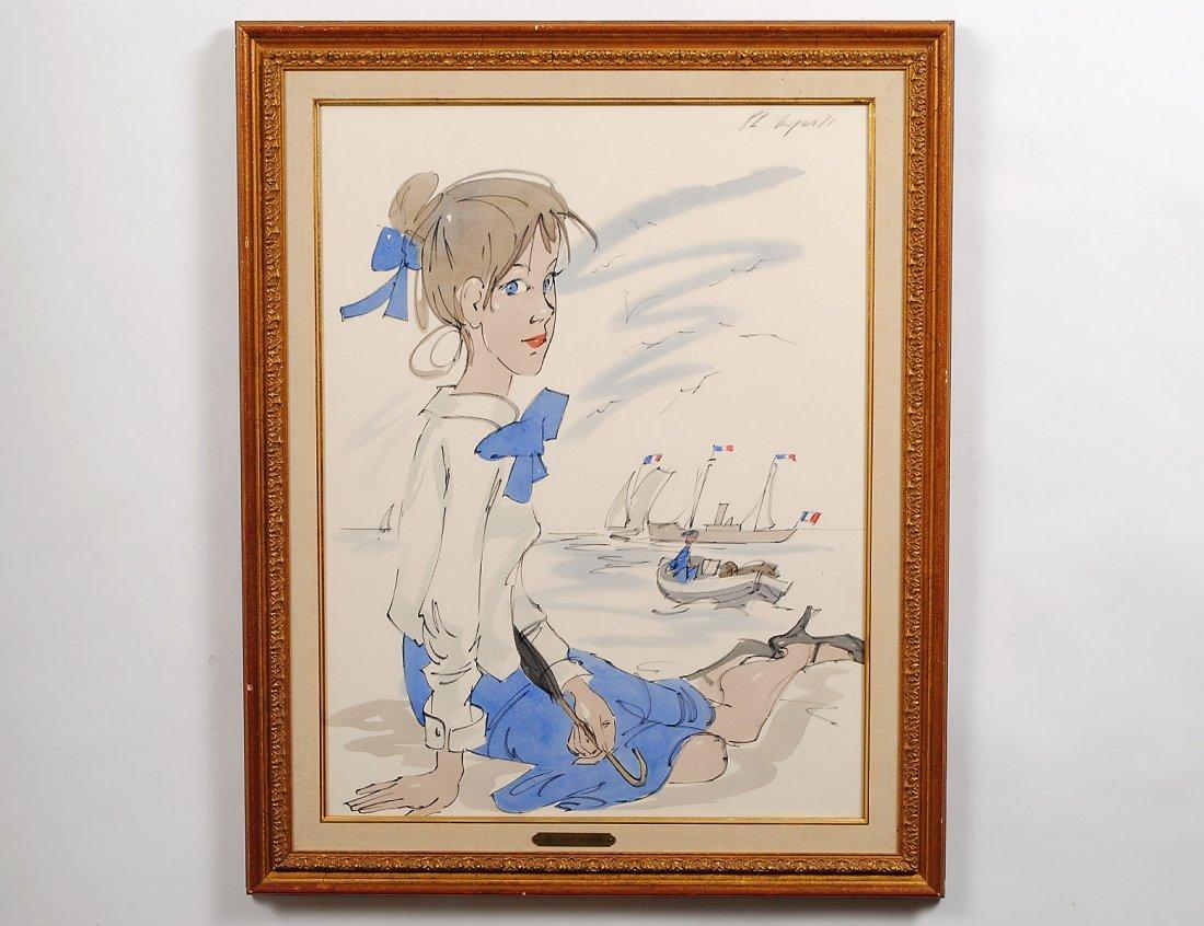PHILIPPE HENRI NOYER (French. 1917-1985)