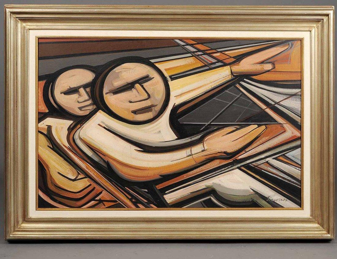 DAVID ALFARO SIQUEIROS (Mexican. 1896-1974)
