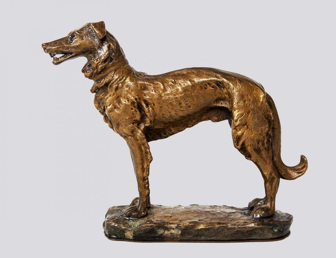 VIENNA BRONZE FIGURE OF A DOG
