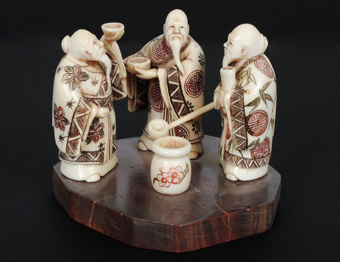 CARVED IVORY GROUP