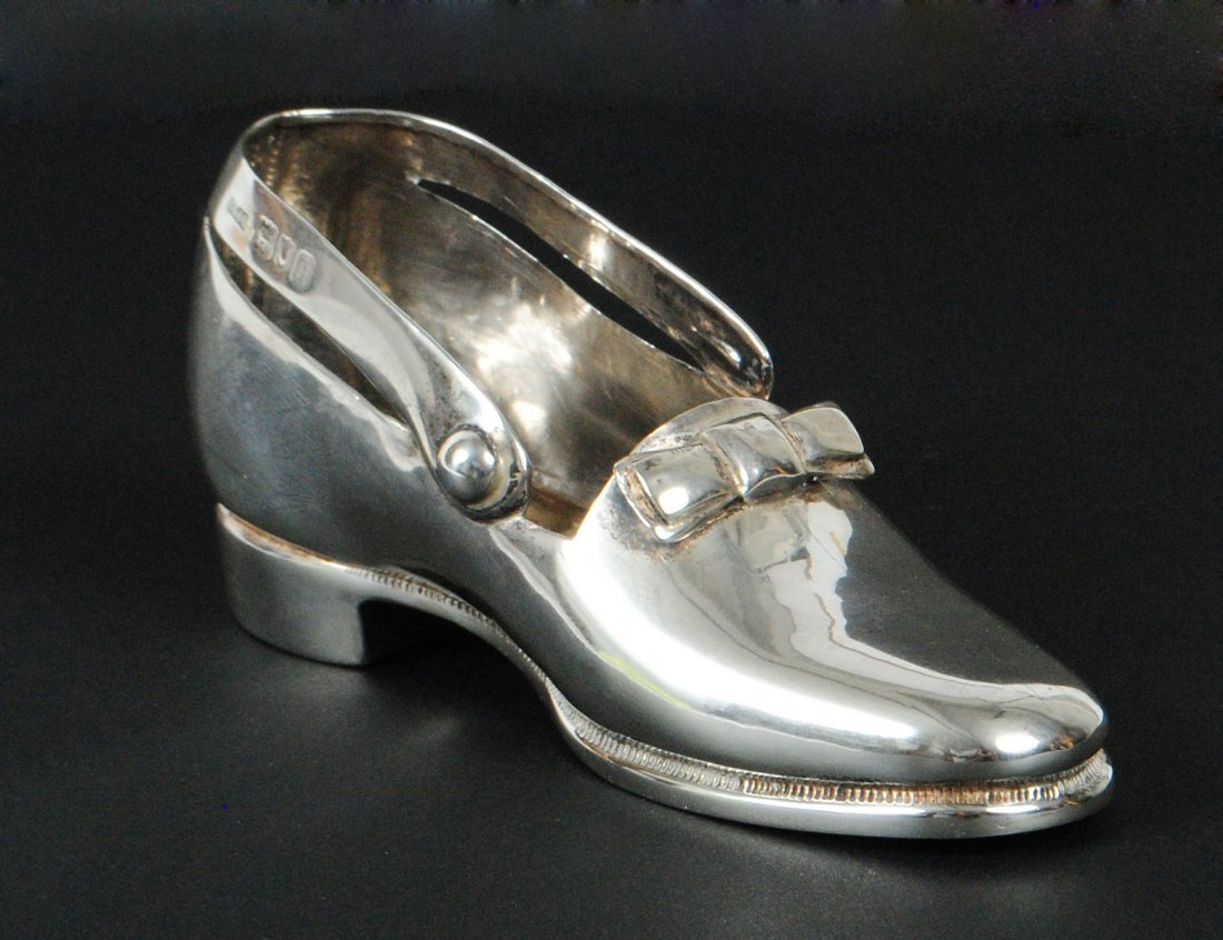 VICTORIAN STERLING SILVER SHOE