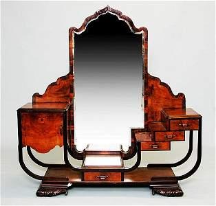 74: Art Deco Five (5) Piece Bedroom Set