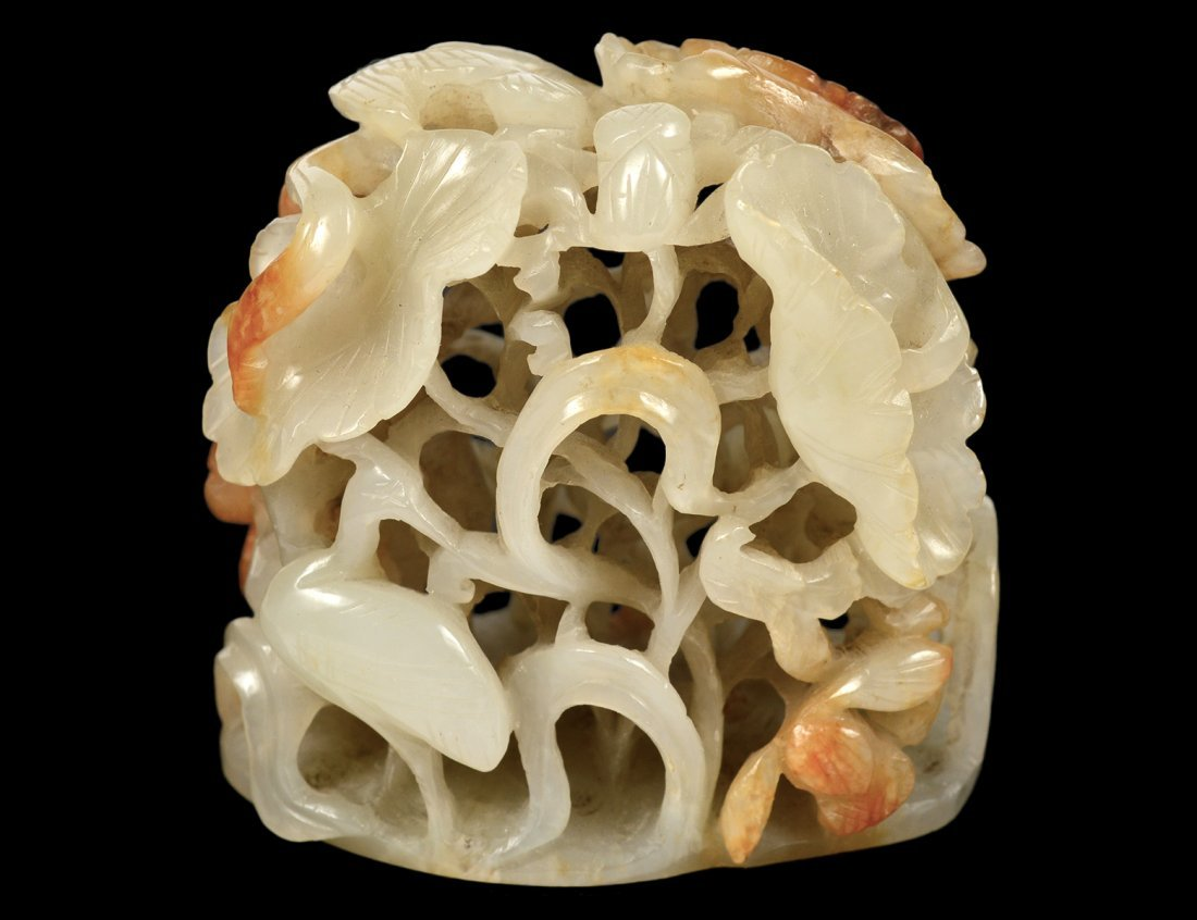PIERCE CARVED JADE GROUP