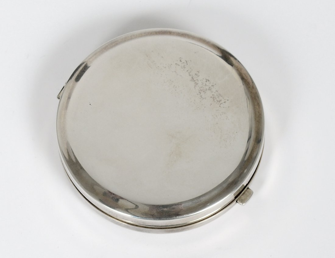 TIFFANY & CO. STERLING SILVER COMPACT