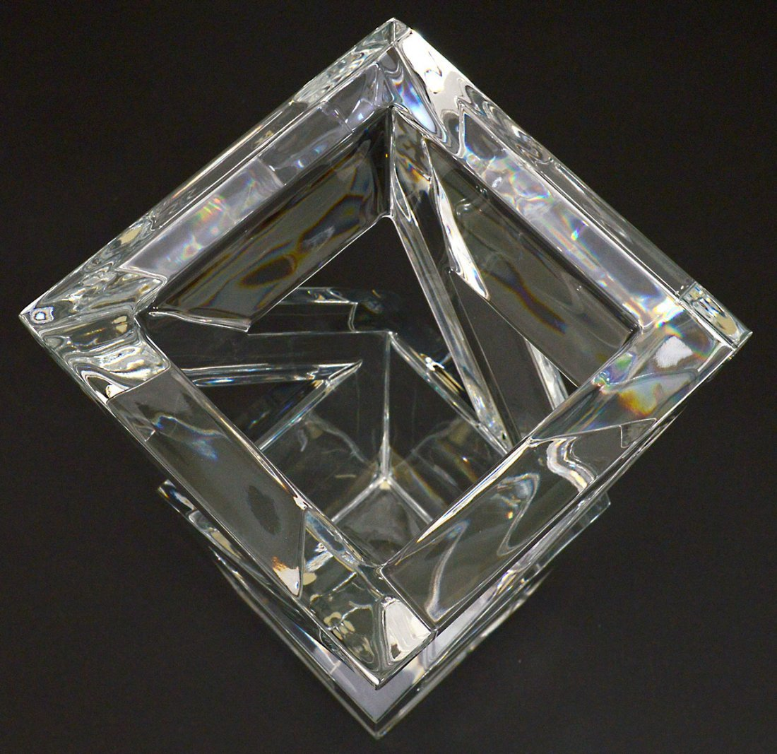 BACCARAT CRYSTAL ARCHITECTURE VASE - 2