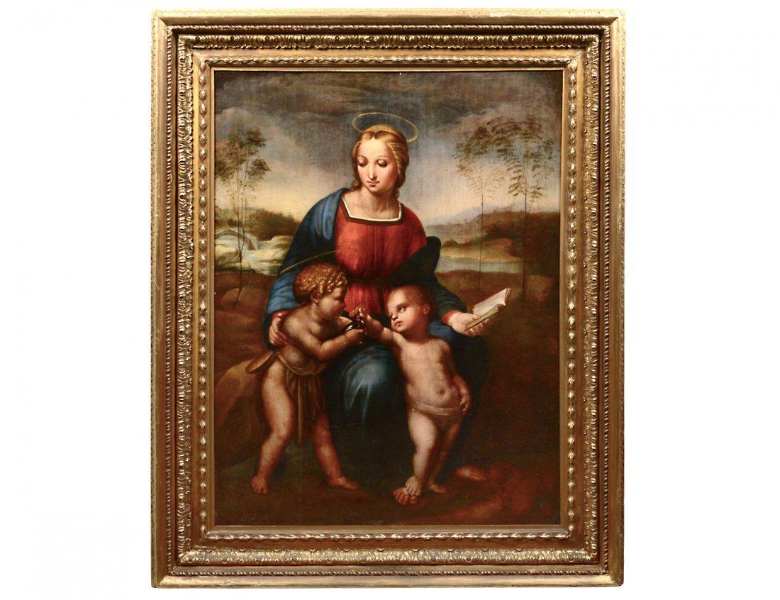 ATTRIBUTED TO GIULIO ROMANO (Italian. 1492-1546)