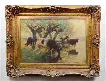 HENRY SINGLEWOOD BISBING (American. 1849-1933)