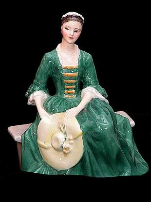 Royal Doulton Lady From Williamsburg HN22
