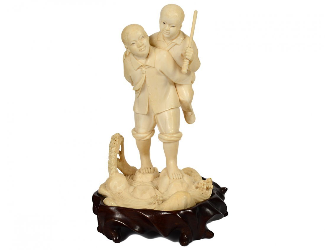 WELL CARVED IVORY GROUP