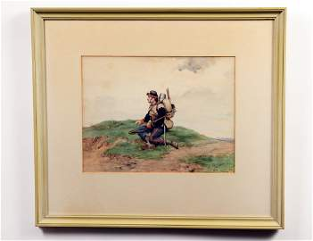PAUL GROLLERON (French. 1848-1901)