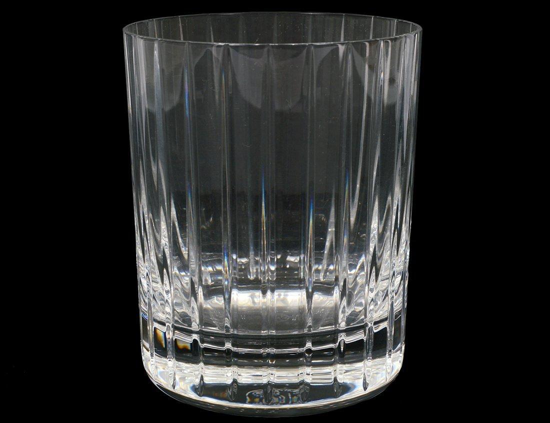 SET OF TWENTY-TWO BACCARAT CRYSAL ON THE ROCKS GLASSES