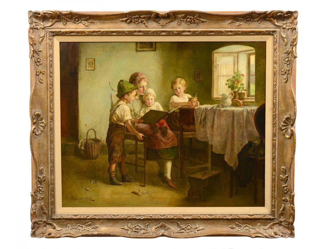 EDMUND ADLER (German/Austrian. 1876-1965)