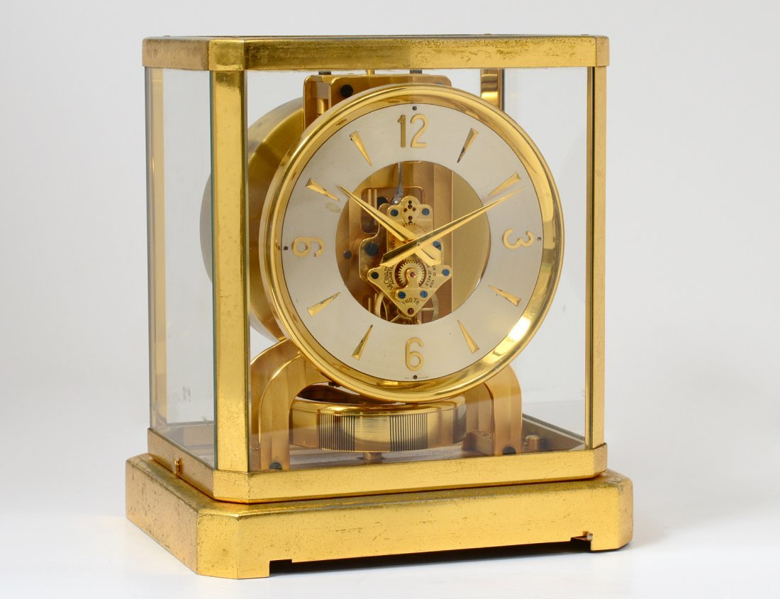 LE COULTRE BRASS ATMOS CLOCK