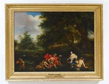 IN THE MANNER OF FILIPPO LAURI (Italian. 1623-1694)