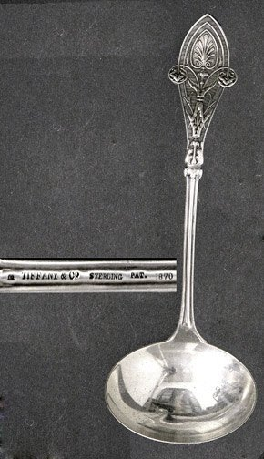 524: Tiffany & Co Italian Sterling Silver Gravy Ladle