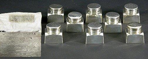 569: Gorham Sterling Silver Brush and Hand Mirror Set