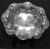 579: Art Nouveau Whiting Sterling Silver Bowl