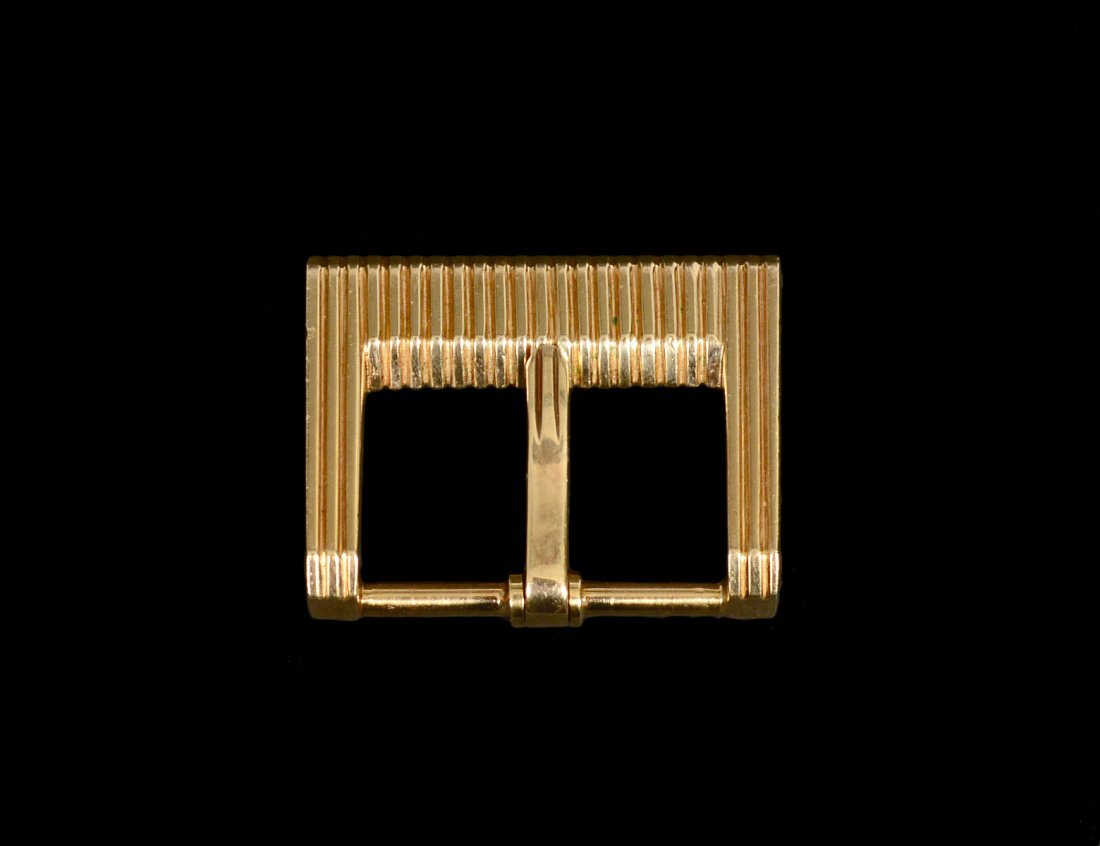 TIFFANY & CO FOURTEEN KARAT YELLOW GOLD BELT BUCKLE