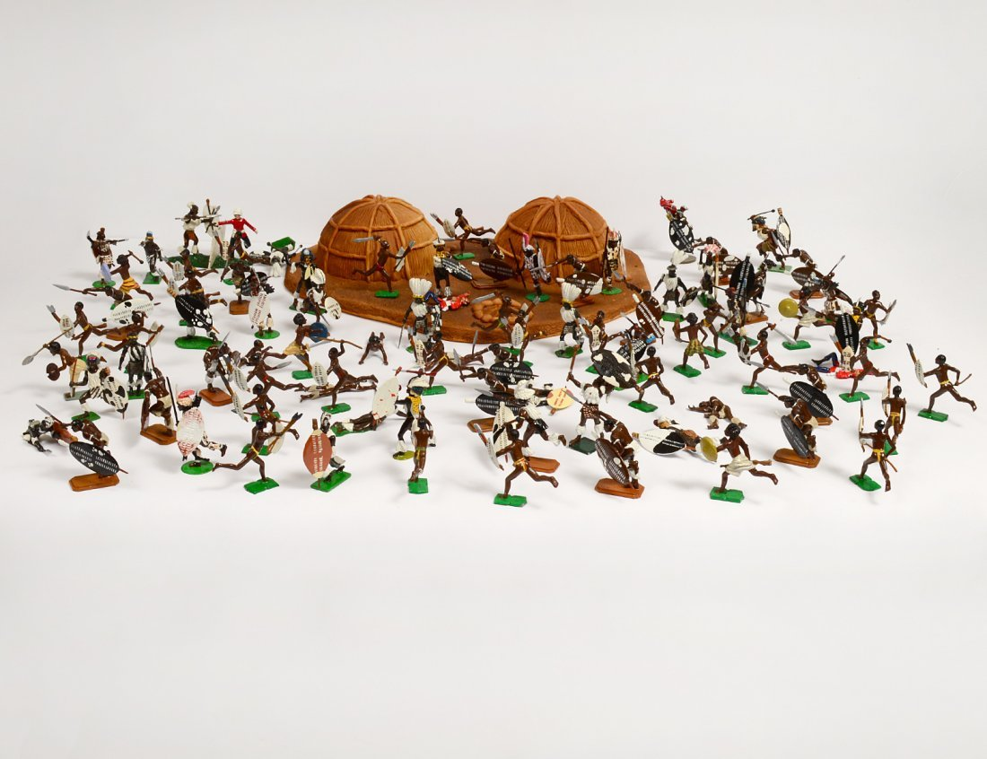 COLLECTION OF EIGHTY-SIX TOY SOLDIERS